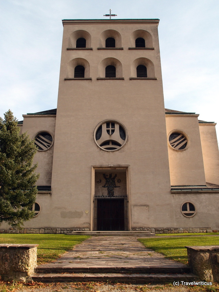 Christ the King Church (Christkönigskirche) in Gloggnitz, Austria