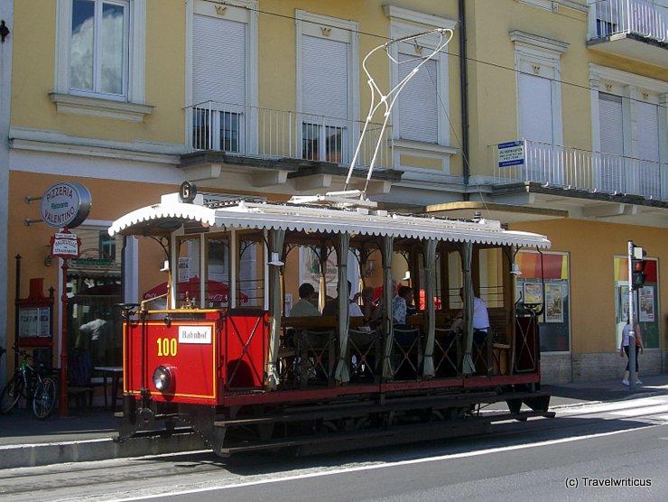 Tramcar GM 100 in Gmunden, Austria