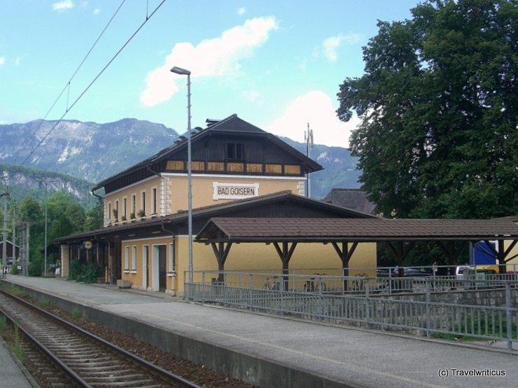 Railway station of Bad Goisern, Austria