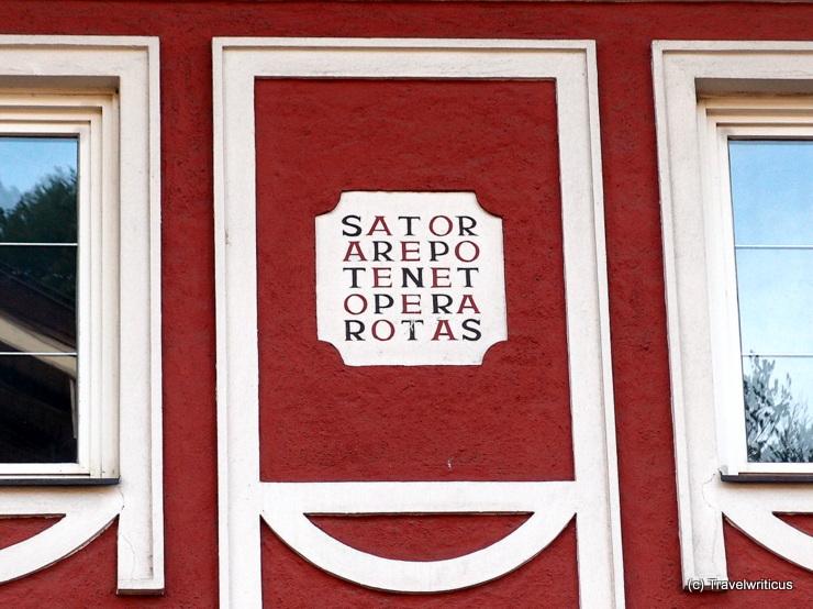 Satore square in Golling / Salzach, Austria