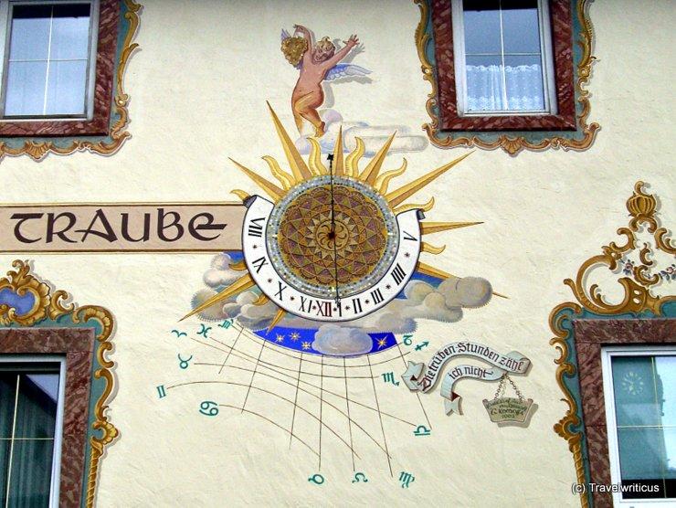 Sundial in Golling, Austria