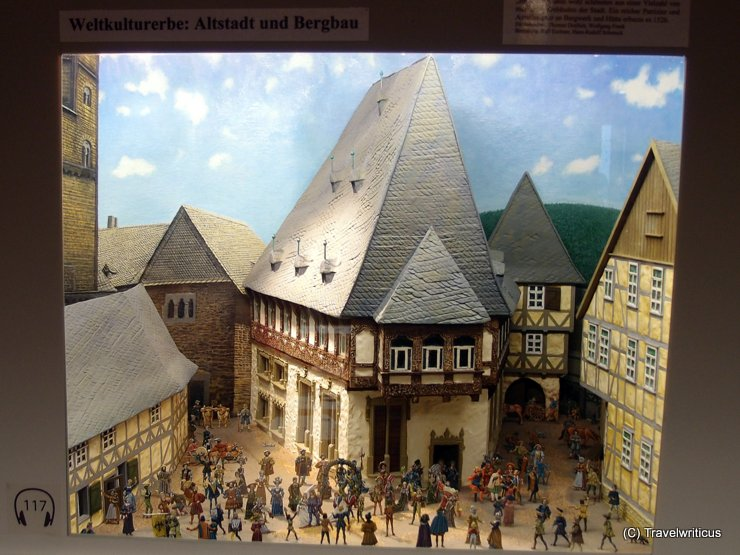 Pewter figure museum in Goslar, Germany