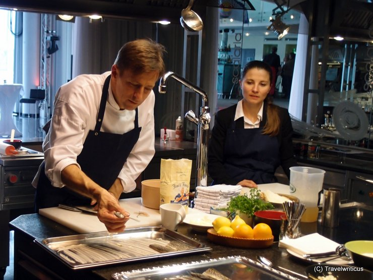 Cooking class with Joachim Gradwohl