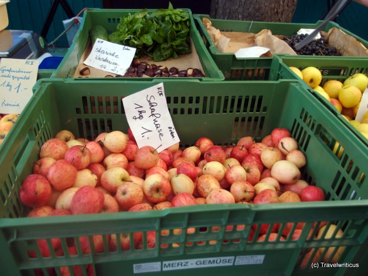 Schafnase at farmer market in Graz