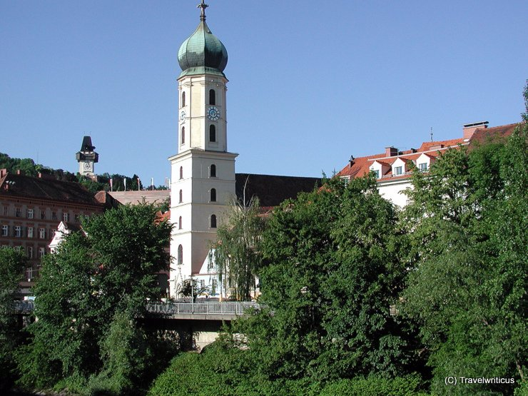 Church of the Franciscan in Graz, Austria