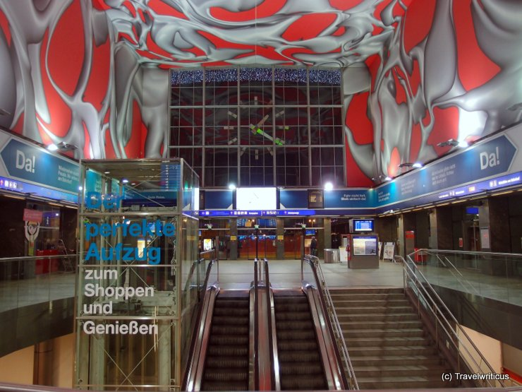 Entrance hall of Graz central station
