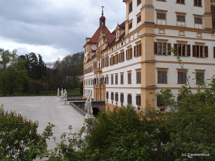 View of Schloss Eggenberg in Graz, Austria