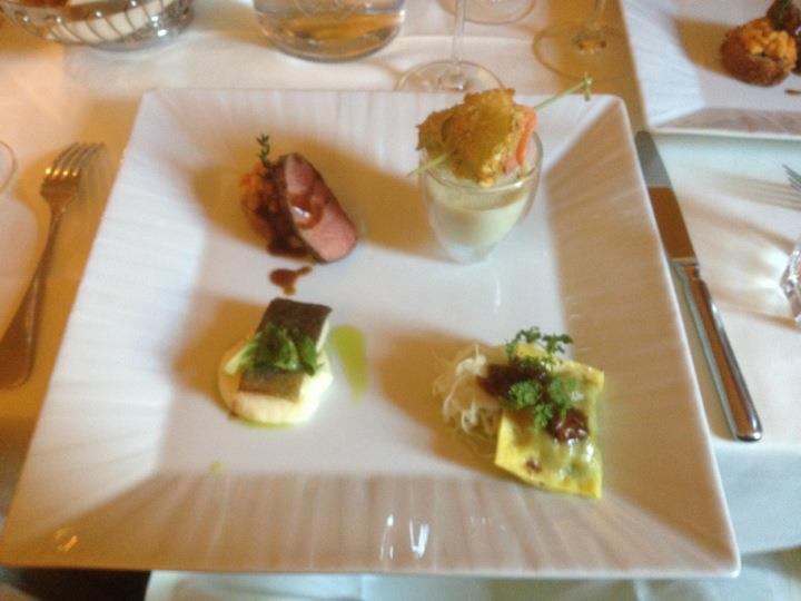 Selection of Styrian delicacies