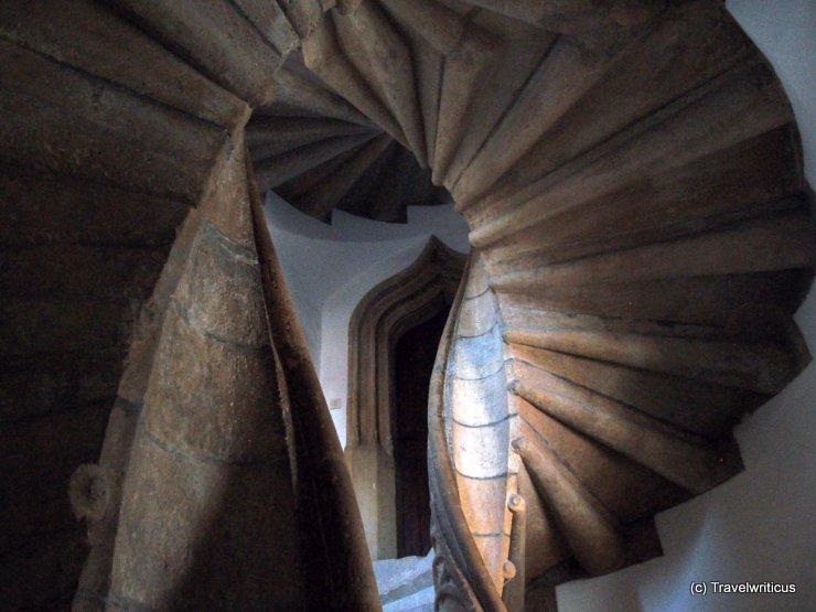 Twin spiral stairs at Graz Castle, Austria