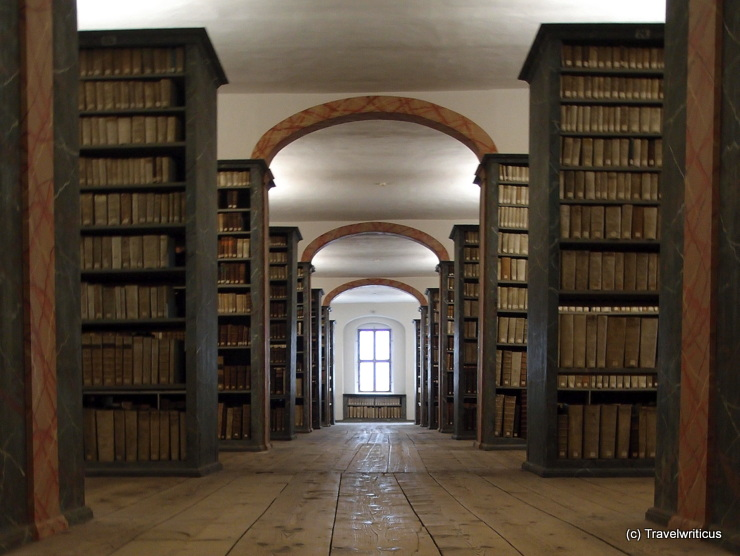 Library of the Francke Foundation in Haale (Saale), Germany