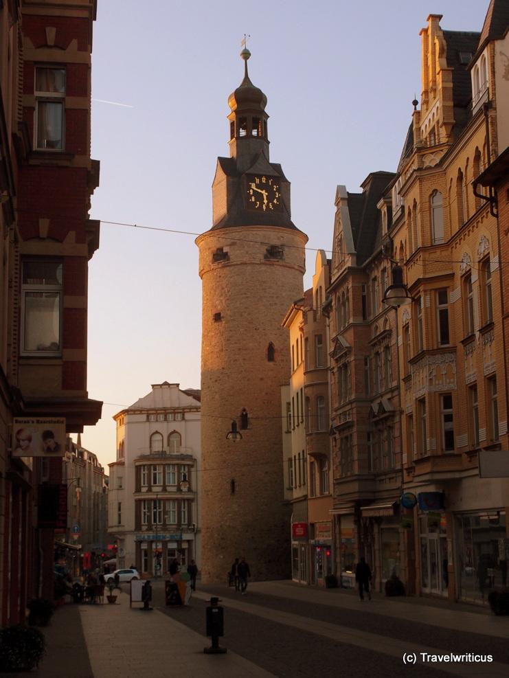 Leipzig Tower in Halle (Saale), Germany