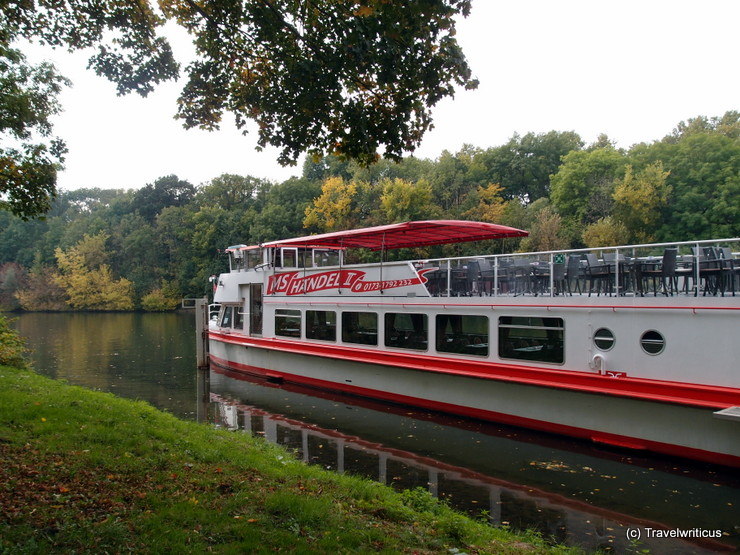 MS Händel II, a ship for river cruises on the Saale river