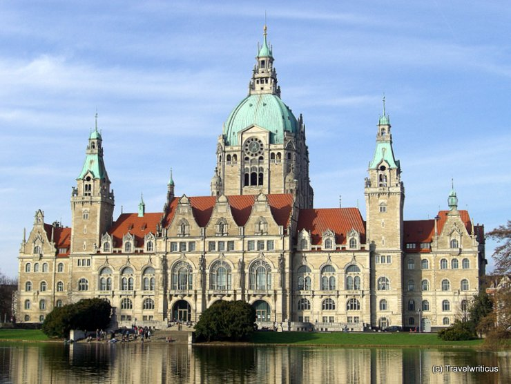 New city hall in Hannover, Germany