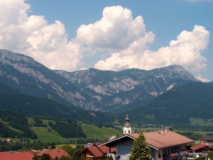Panorama view from hotel Gürtl