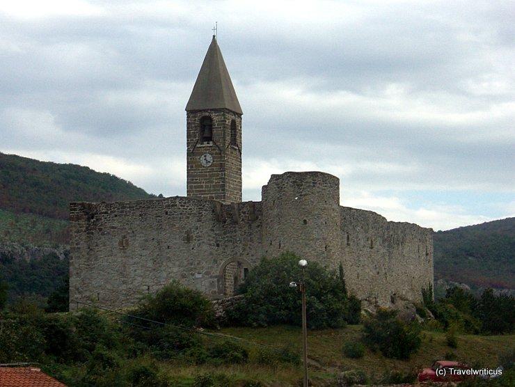 Church of Holy Trinity in Hrastovlje, Slovenia