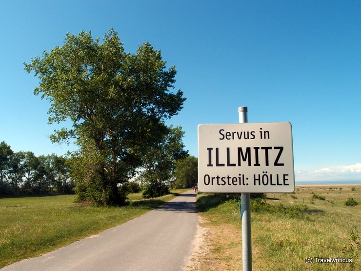 Place name sign of Hell, Austria