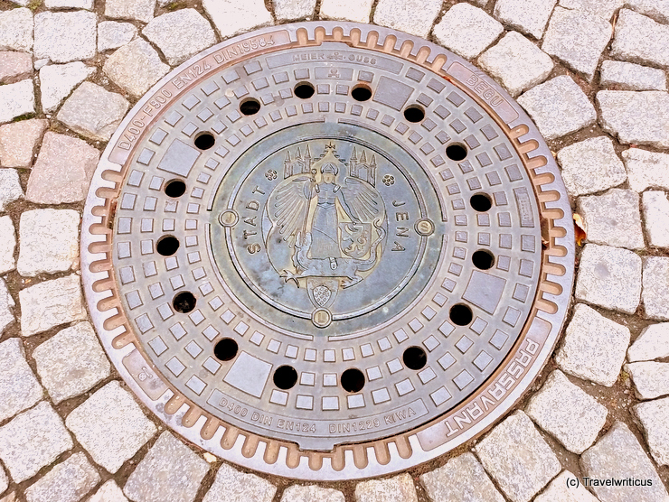Manhole cover in Jena