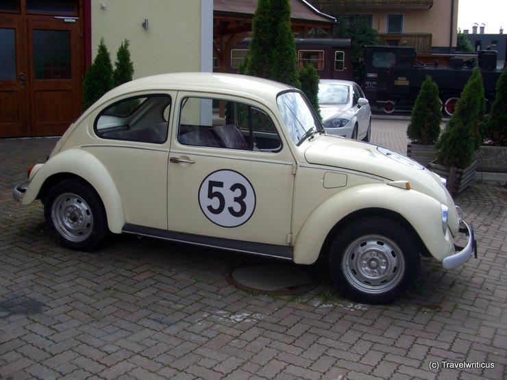 Classic car museum in Kaprun, Austria