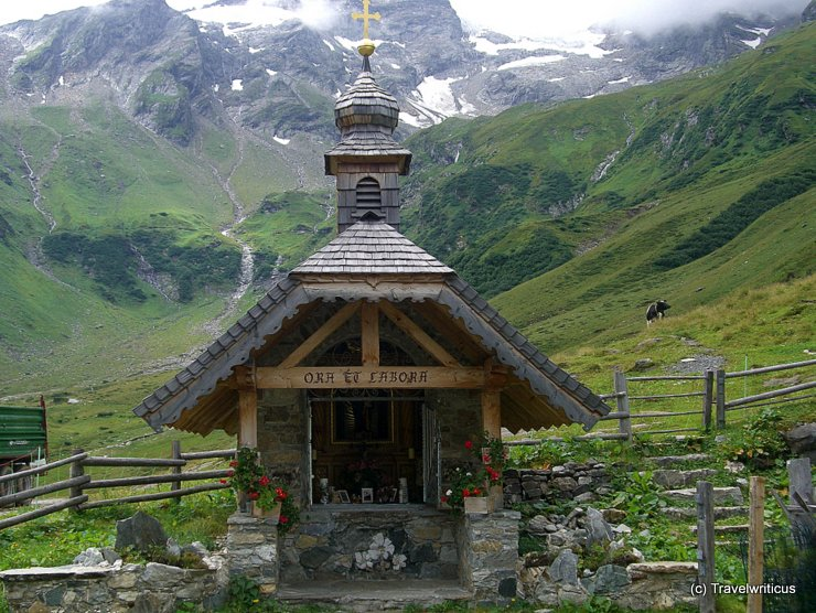 Chapel near Wasserfallboden in Kaprun, Austria