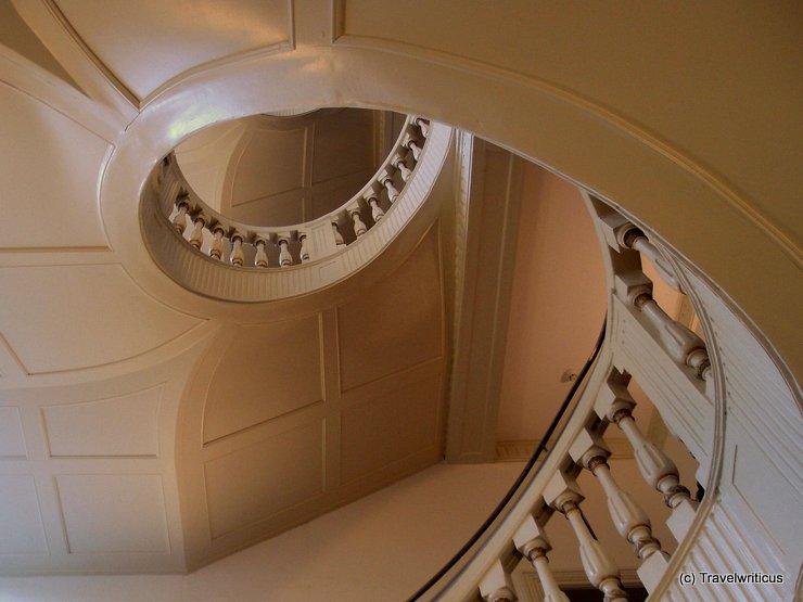 Staircase of the Brüder-Grimm-Museum in Kassel, Germany