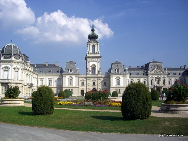 Festetics Palace in Keszthely, Hungary