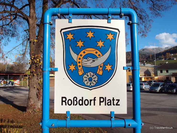 Coat of arms of Roßdorf near Darmstadt, Germany