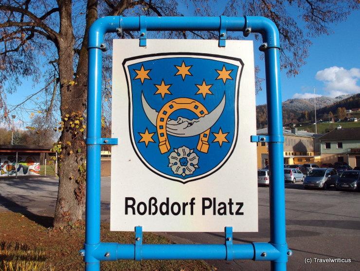 Coat of arms of Roßdorf near Darmstadt, Germany