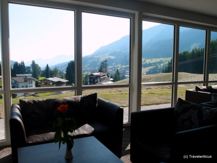 Lounge at Hotel Gemma in Kleinwalsertal, Austria