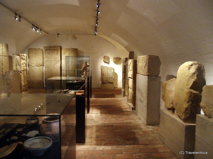 Exhibition room at Klosterneuburg Monastery