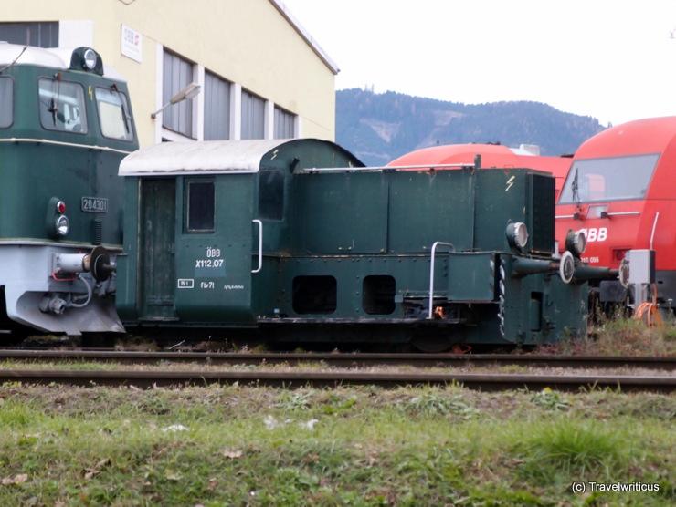 DRG Kleinlokomotive Class II (ÖBB X112.07) in Kniitelfeld, Austria