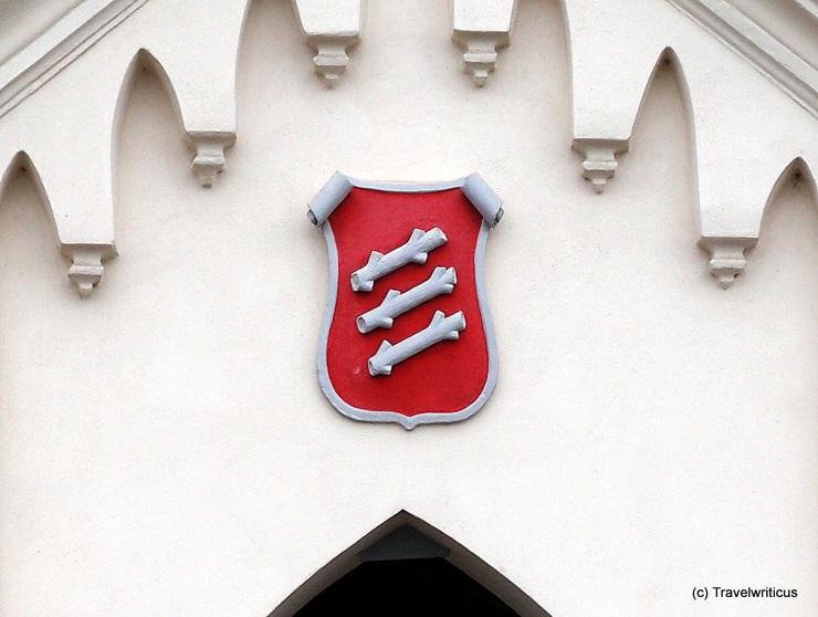 City arms of Knittelfeld, Austria