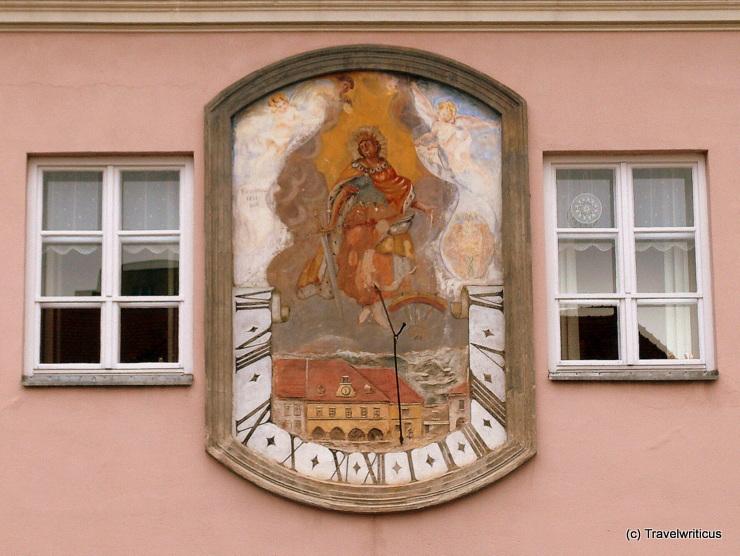 Sundial in Knittelfeld, Austria