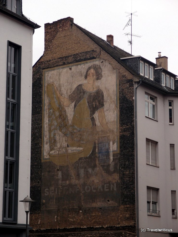 Ghost sign in Koblenz, Germany