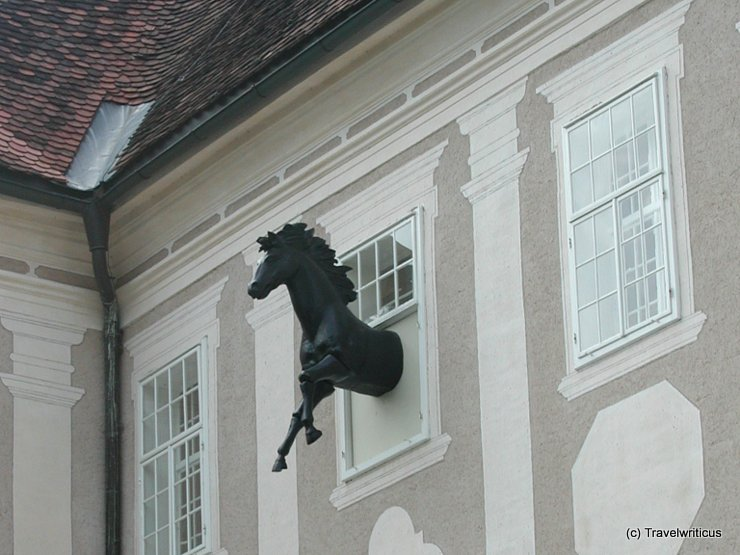 Sculpture at Piber Castle, Austria