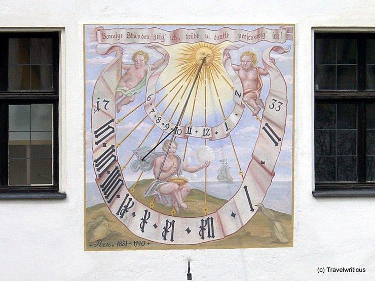 Sundial in Kufstein, Tyrol