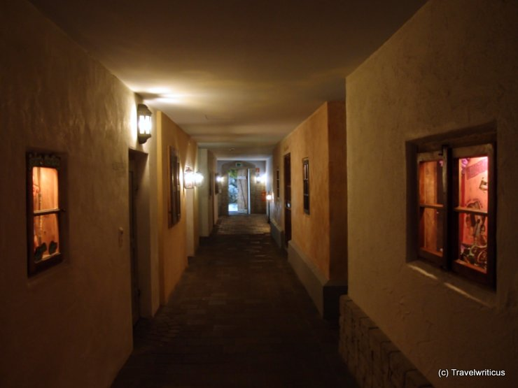 Corridor at Hotel Alpenrose in Lermoos, Austria