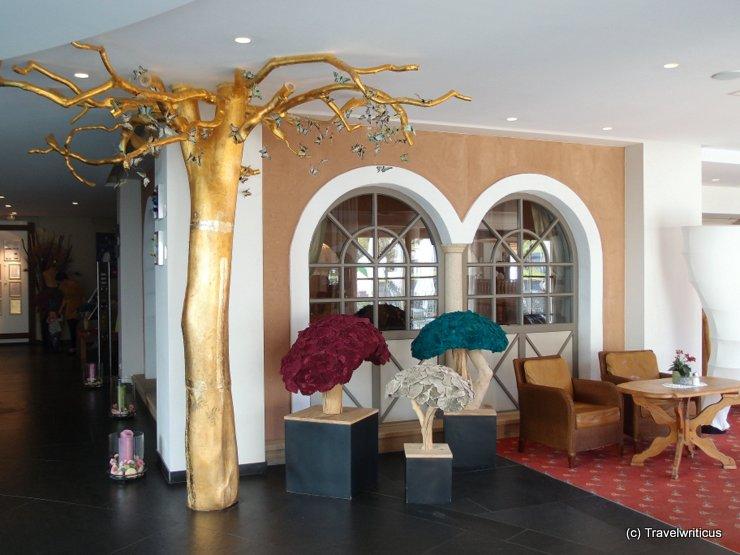 Lounge at Hotel Alpenrose in Lermoos, Austria