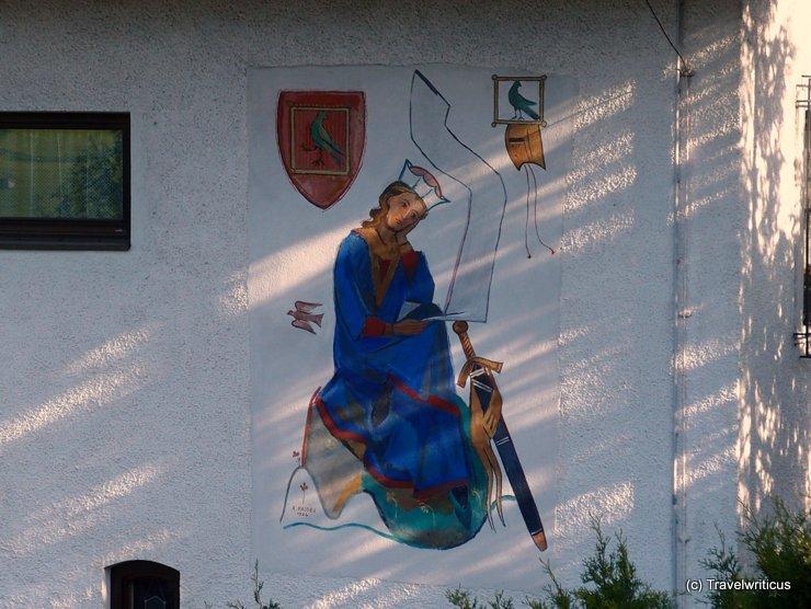 Walther von der Vogelweide in Lermoos, Austria