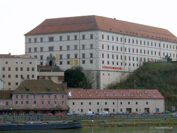 View of Linzer Schloss from Nibelungenbrücke