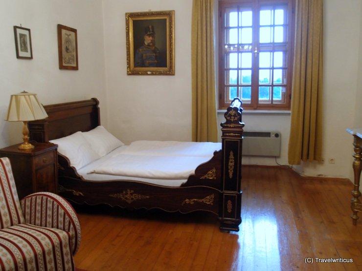 Room Elisabeth at Lockenhaus Castle in Burgenland, Austria