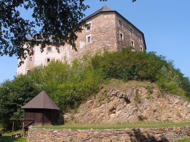 At the foot of Lockenhaus Castle, Austria