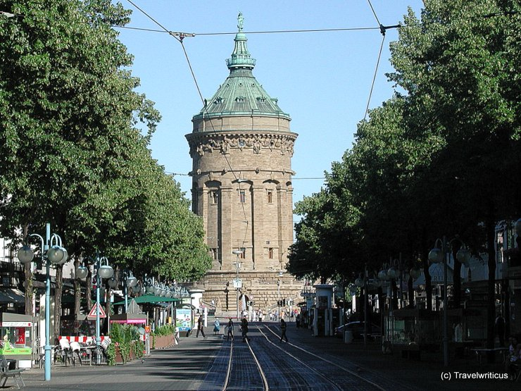 Water tower in Mannheim, Germany