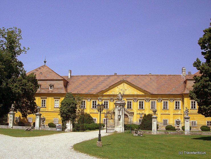Front view of Marchegg Palace