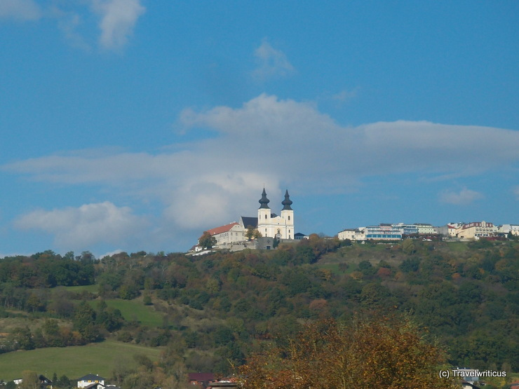 Railview of the pilgrimage church Maria Taferl