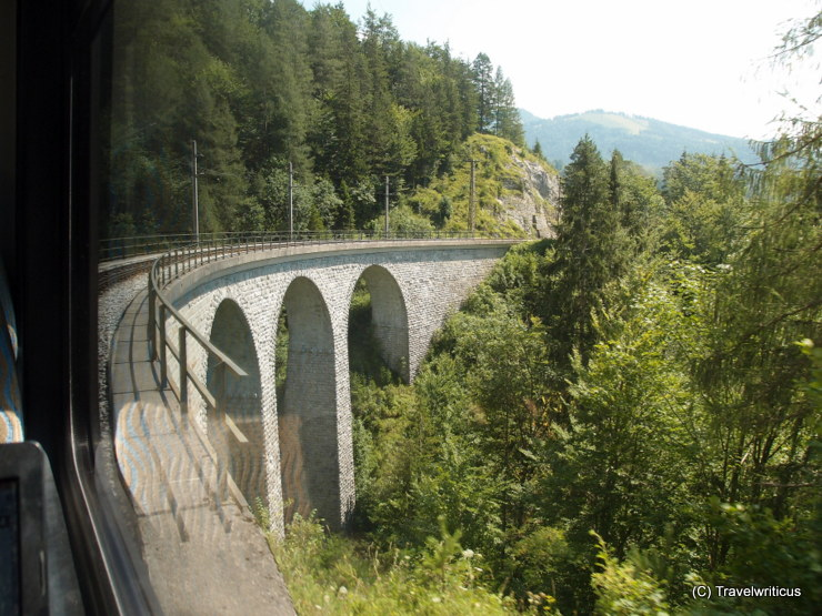 One of numerous viaducts at the Mariazell Railway in Austria