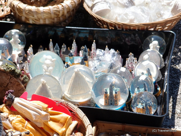 Snow globes, a typical souvenir of Mariazell, Austria