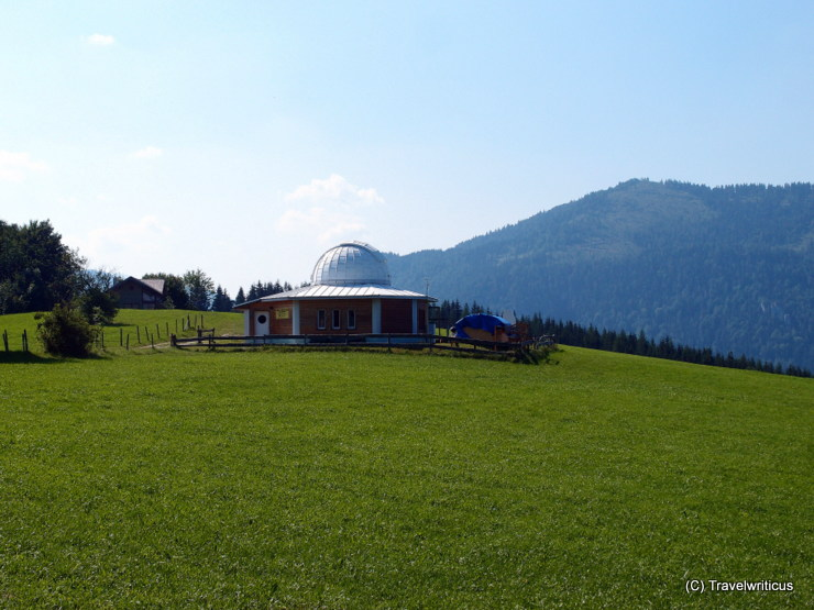 Observatory at the Stehralm in Mariazell, Austria