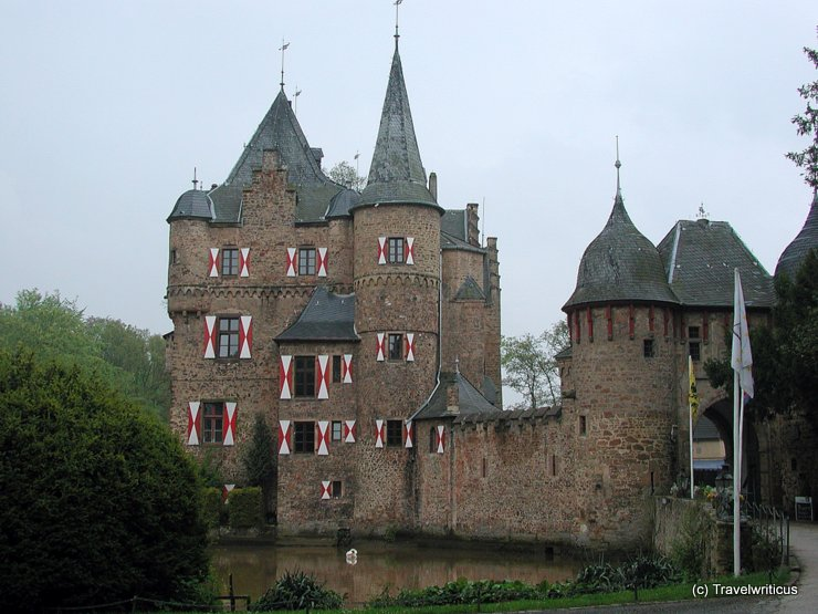 Satzvey Castle in Mechernich, Germany