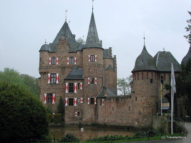 Satzvey Castle in Mechernich, Germany