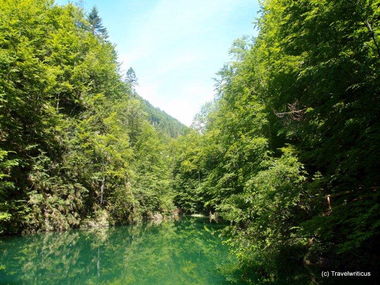 Lake at Mendlingtal, Austria